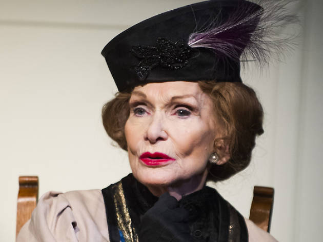 Sian Phillips (Lady Bracknell) in Importance Of Being Earnest