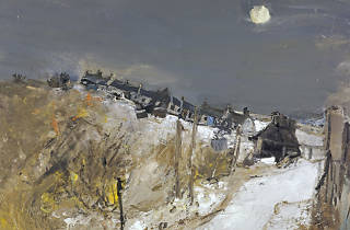 Joan EARDLEY (1921-63) Catterline in Winter, c.1963