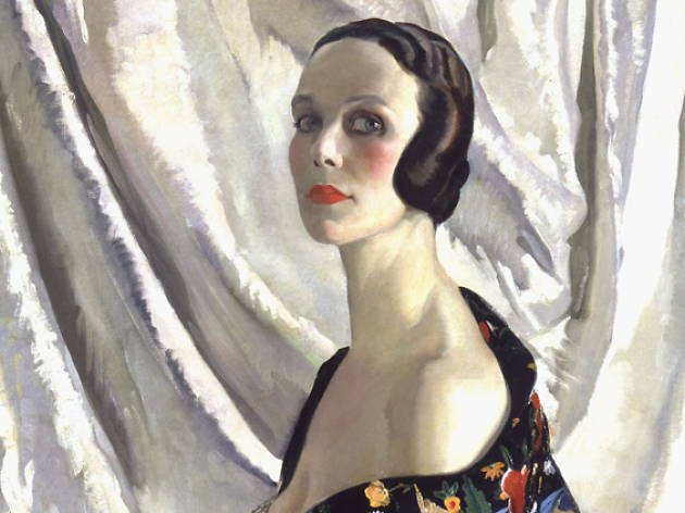 Doris ZINKEISEN (1897-1991) Self-portrait (Mrs Grahame Johstone), c.1929