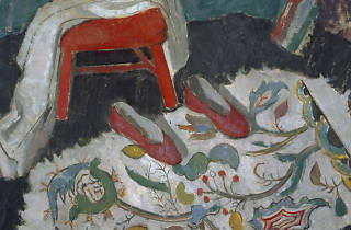 Anne REDPATH (1895-1965) The Indian Rug (or Red Slippers), c.1942