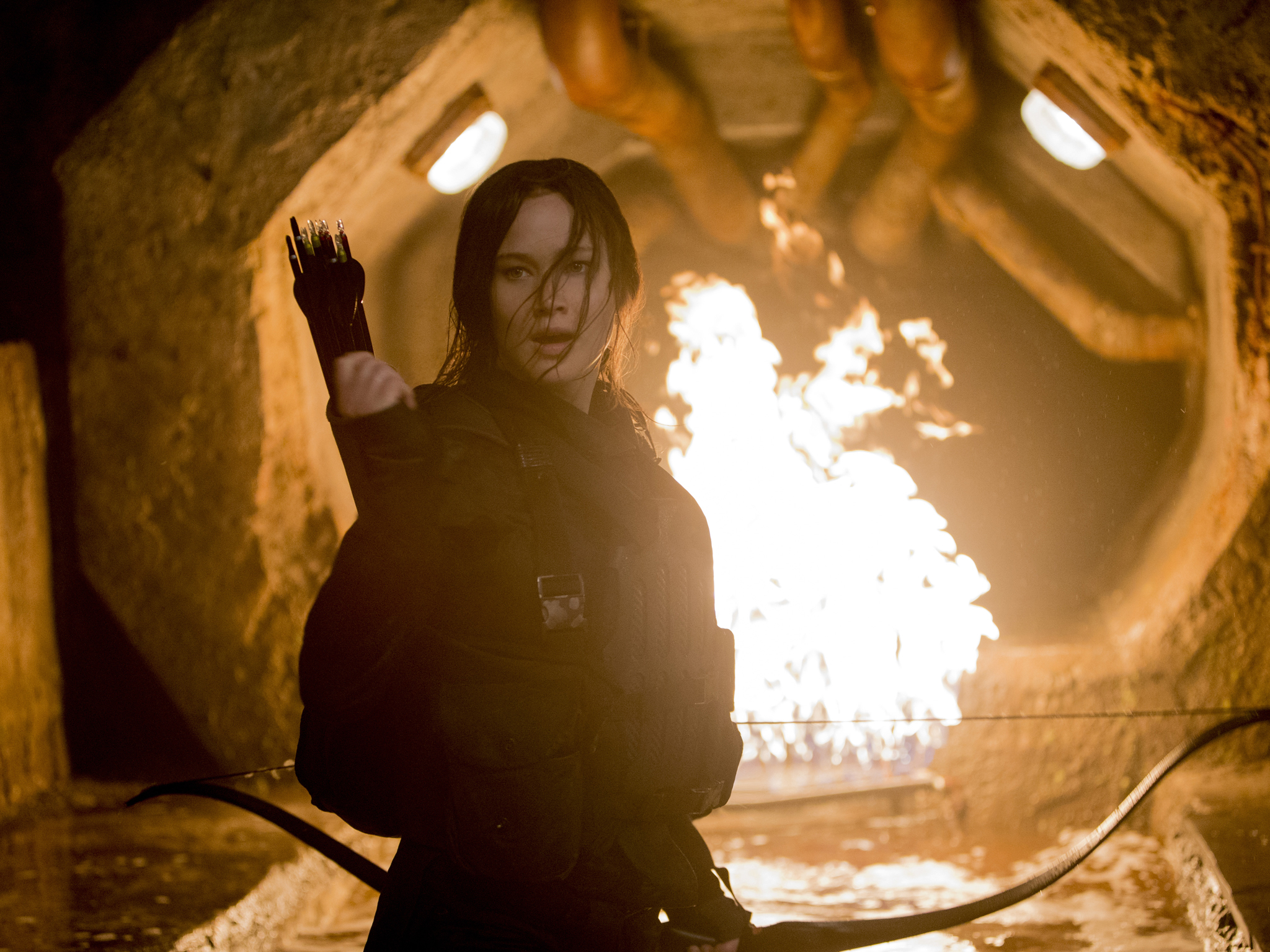 Hunger Games best bits, the tunnel scene