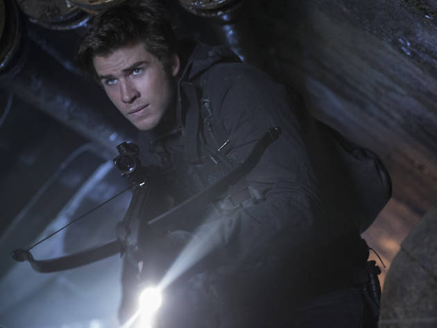 Hunger Games best bits, Liam Hemsworth