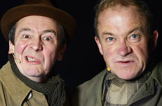 Harry Enfield and Paul Whitehouse as the Old Gits