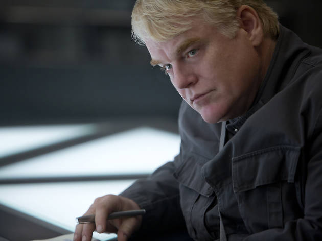 Hunger Games best bits, philip seymour hoffman