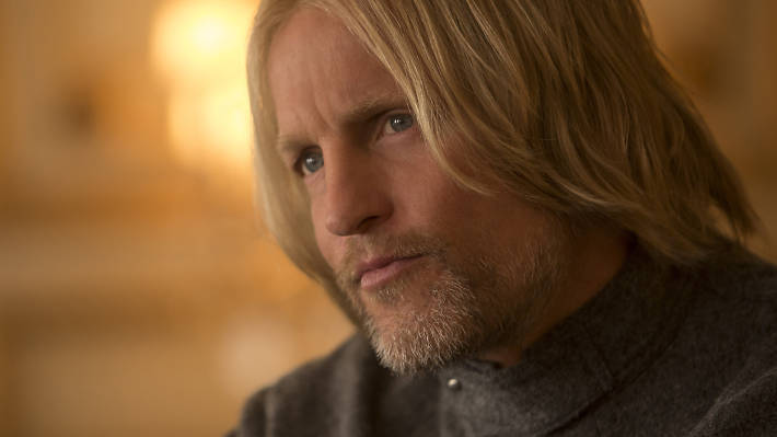 hunger games best bits, the cast, woody harrelson