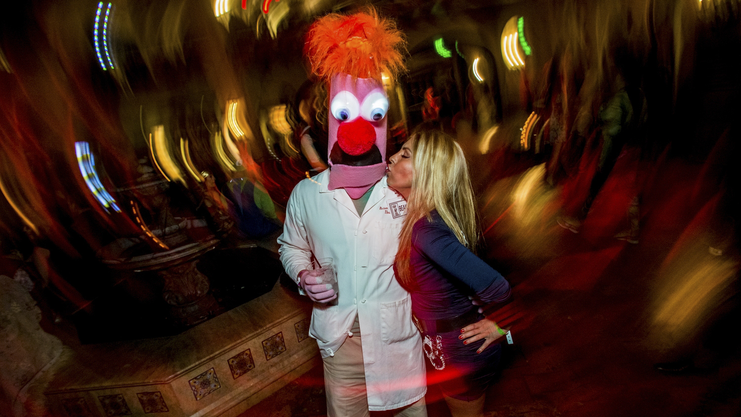 Halloween at the Roosevelt Hotel 2015 in photos