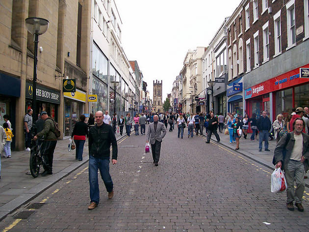 Liverpool beats NYC to the punch with fast-walking pedestrian lanes