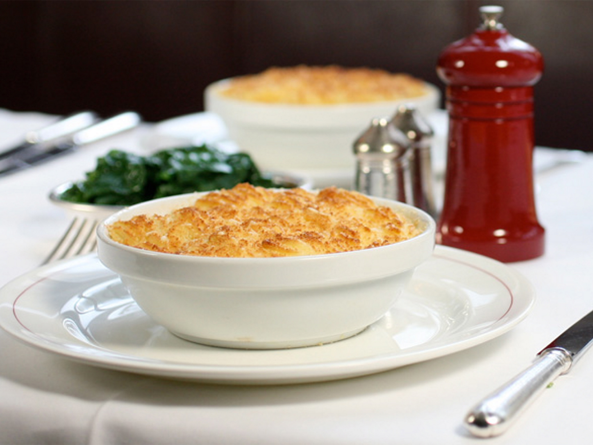 Fish pie at J Sheekey Oyster Bar
