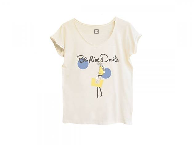Be Parisian t-shirts and bags