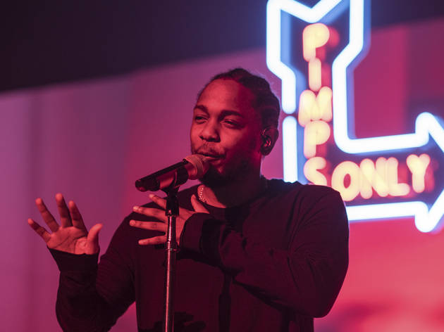 Kendrick Lamar at the Riviera Theatre