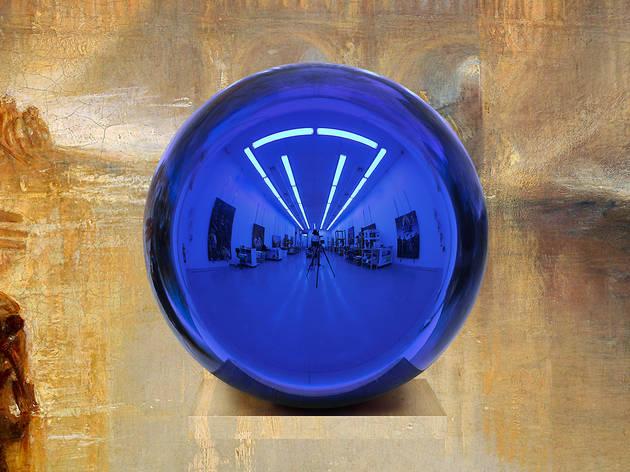 Jeff Koons, Gazing Ball, CROPPED SPLASH