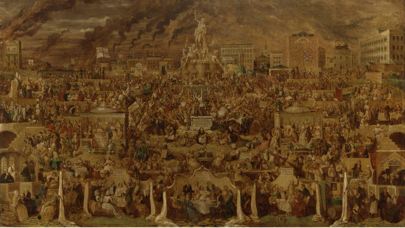 'The Worship of Bacchus', 1860-'62, by George Cruikshank