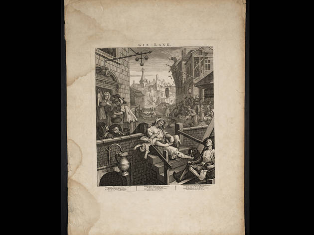 'Gin Lane', 1751, by William Hogarth