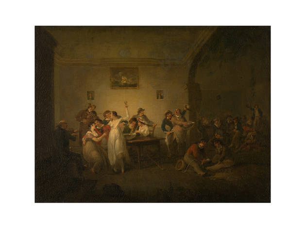 'A Married Sailor's Return' and 'An Unmarried Sailor's Return', c1800, by Julius Caesar Ibbetson