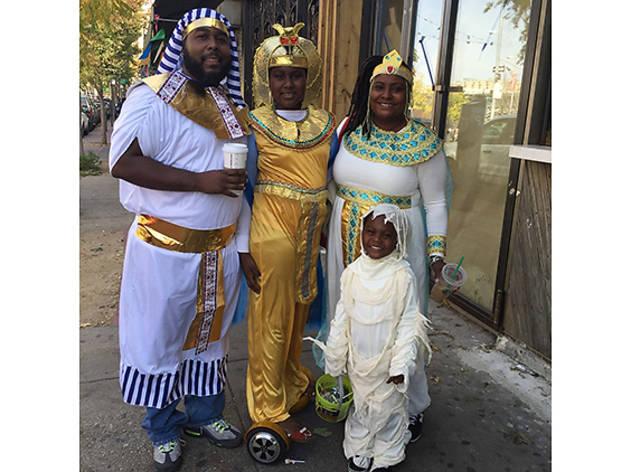 Nnyala (11), and Damon-Masaai (4), Bronx