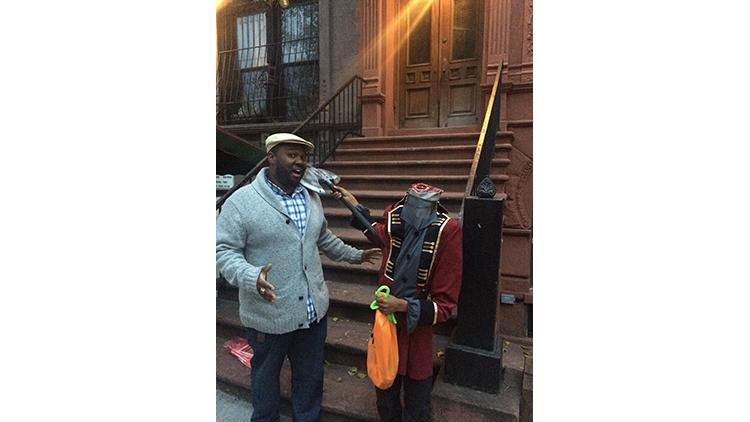 Khalil (10), Harlem