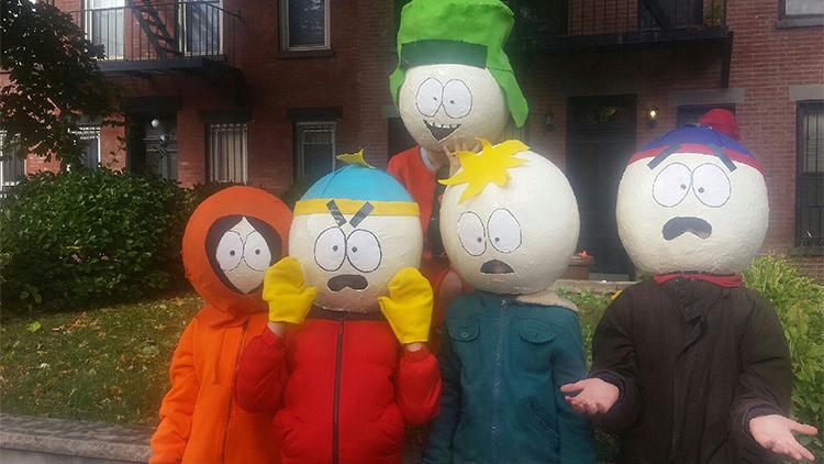 Kenny (12), Giovanni (12), Kyle (12), Simon (12) and Eli (12), Carroll Gardens
