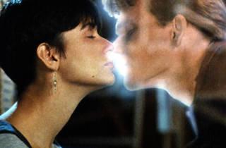 Kissing scenes in movies, ghost, swayze, moore