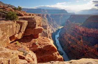 Toroweap point at Grand Canyon National Park