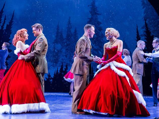 White Christmas Musical.White Christmas Theater In Chicago