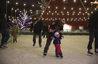 Ice Skating at Lincoln Park Zoo
