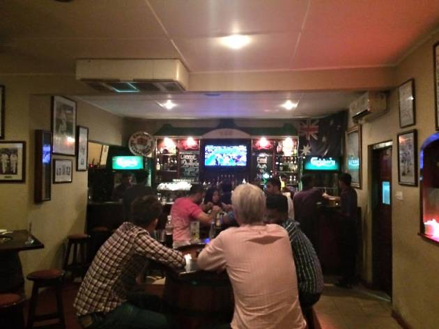 The Cricket Club Café: Bradman Bar