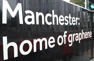 Manchester Nobel Graphene Billboard