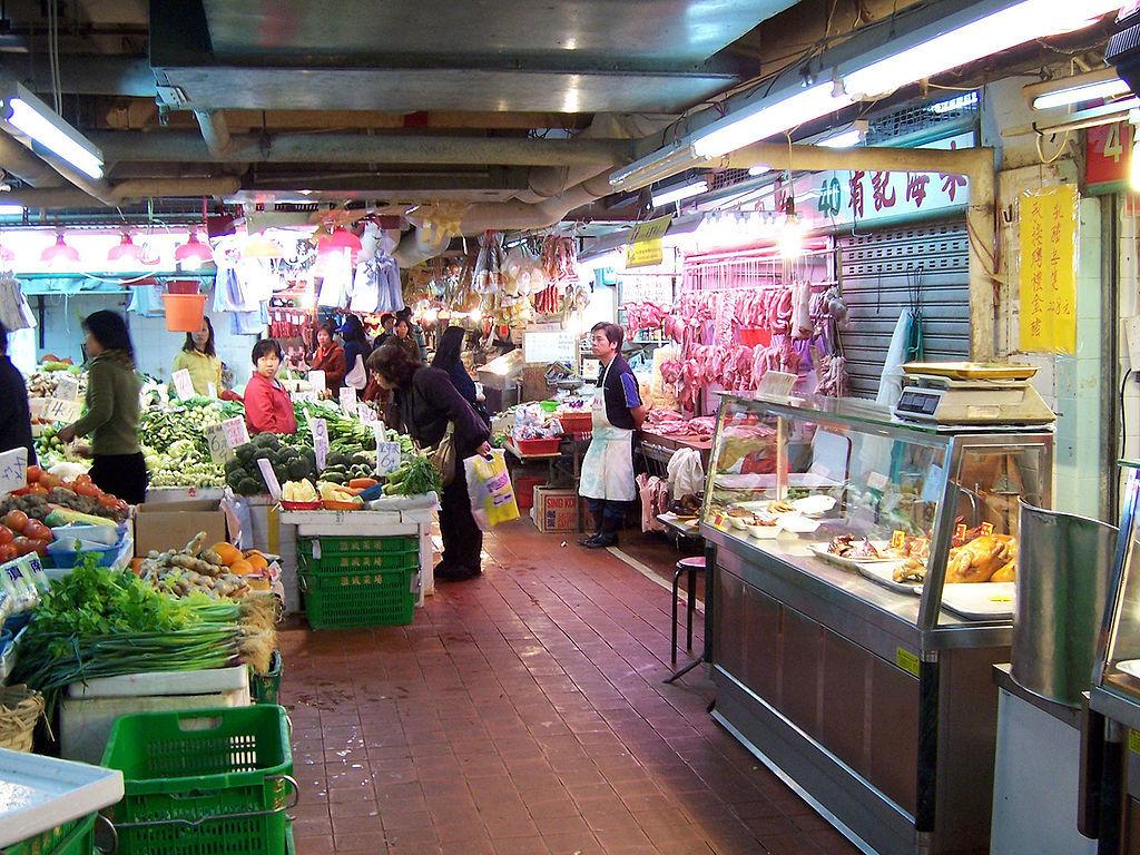 Kowloon City wet market