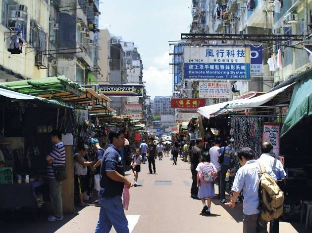 Ap Liu Street electronics market
