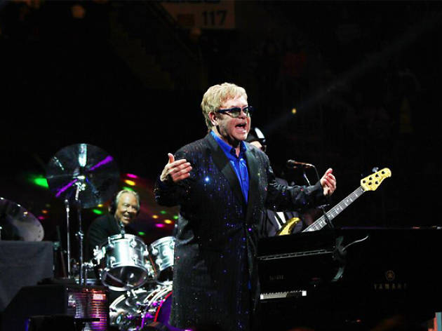 Elton John All The Hits tour