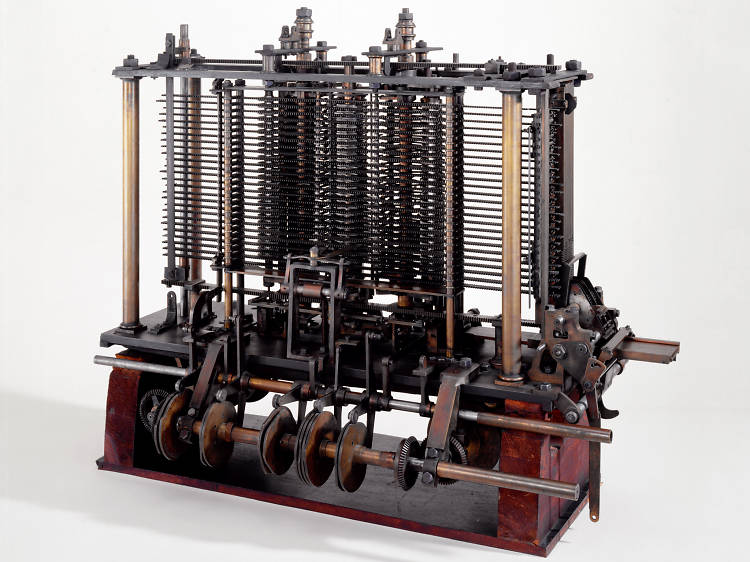 Model of Charles Babbage's Analytical Engine, 1871