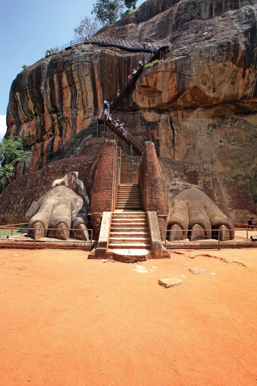 Sigiriya rock citadel