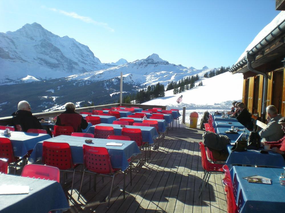 Bergrestaurant Bussalp, Grindelwald restaurant, Time Out Switzerland