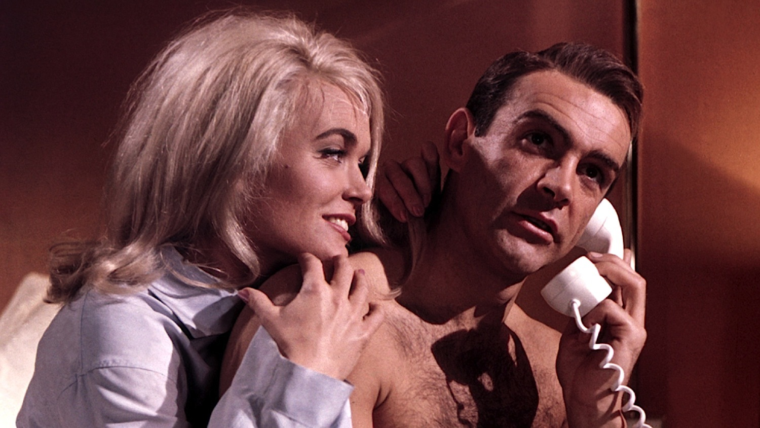 Sean Connery - James Bond - BONS BAISERS DE RUSSIE (FROM RUSSIA WITH LOVE) de Terence Young