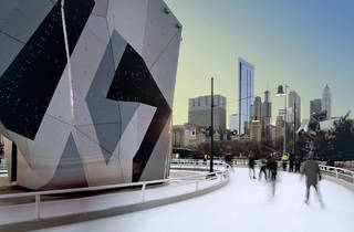 Ice Skating at Maggie Daley Park