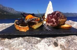 Capers lounge bar, Korcula, Croatia, steakhouse
