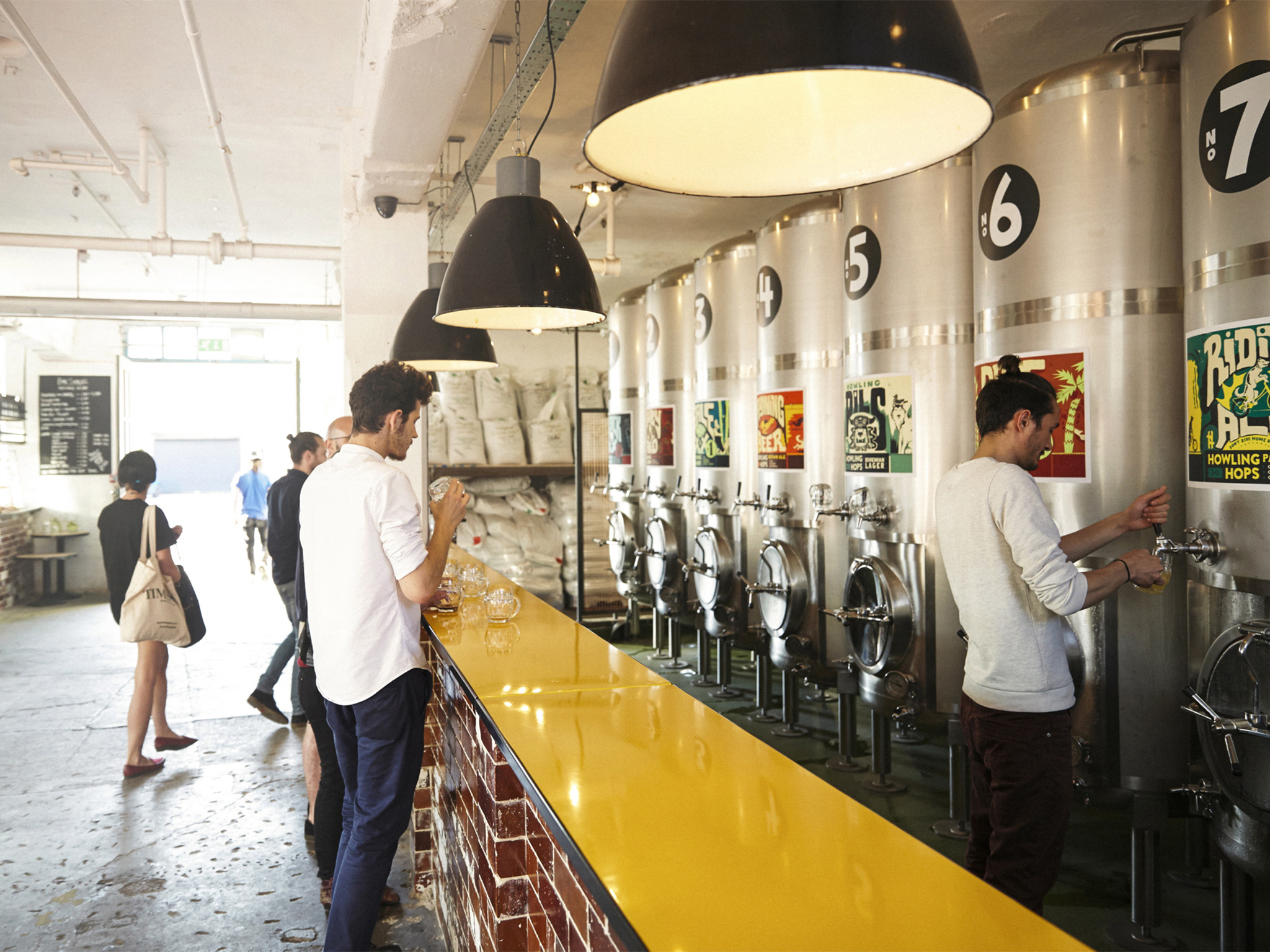 The best London breweries