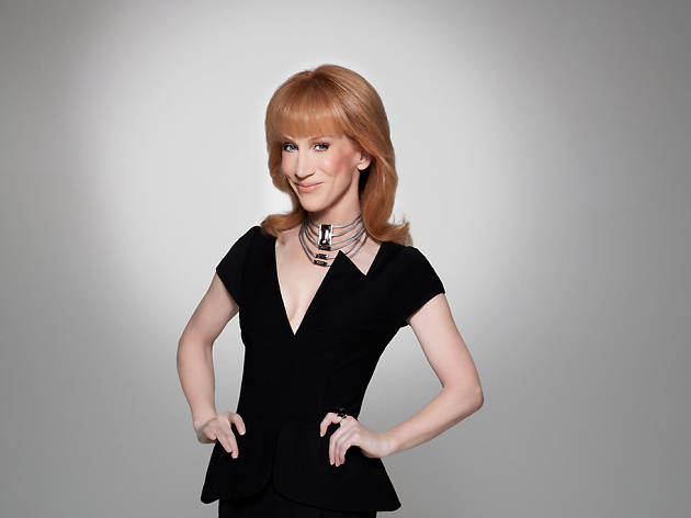 Kathy Griffin chats about New York celebrities
