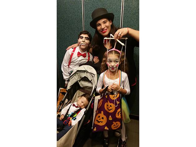 Nathanael (9), Emiline (7), Malachi (10 months), Hells Kitchen