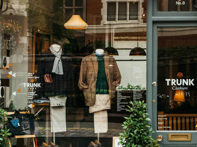 Trunk clothes shop Marylebone 2015