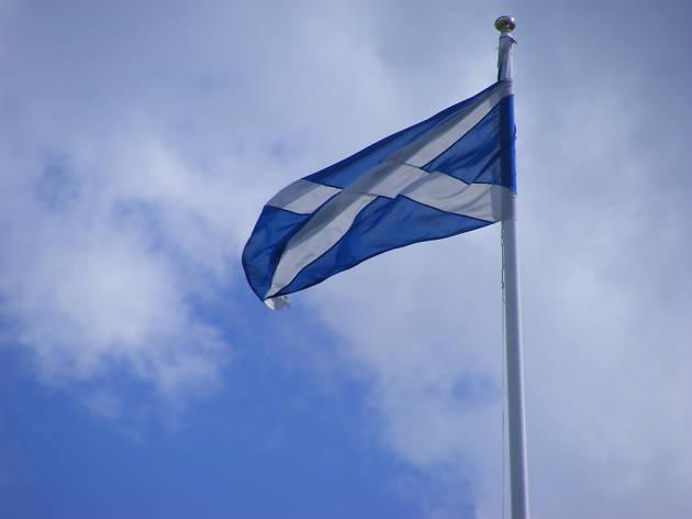 saltire scottish flag