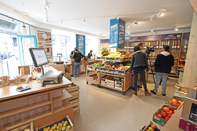 Biocoop magasin bio éphémère vrac