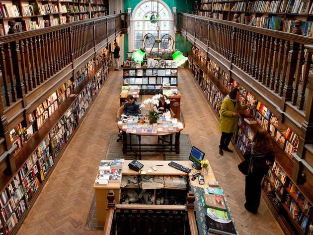 Browse in an independent bookshop