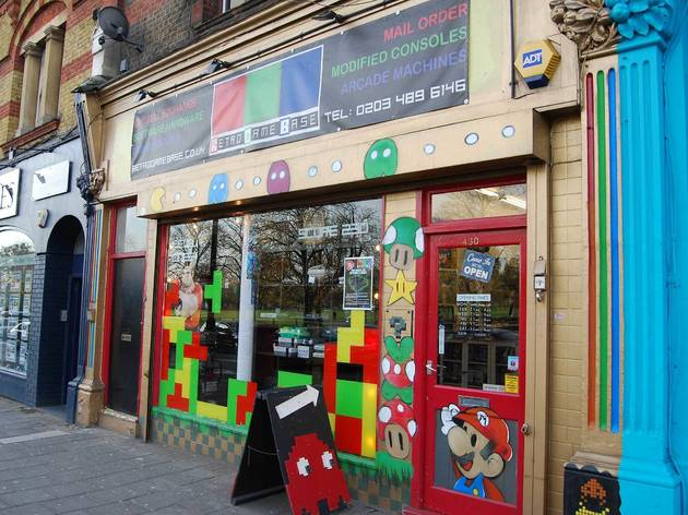 100 best shops London: Retro Game Base