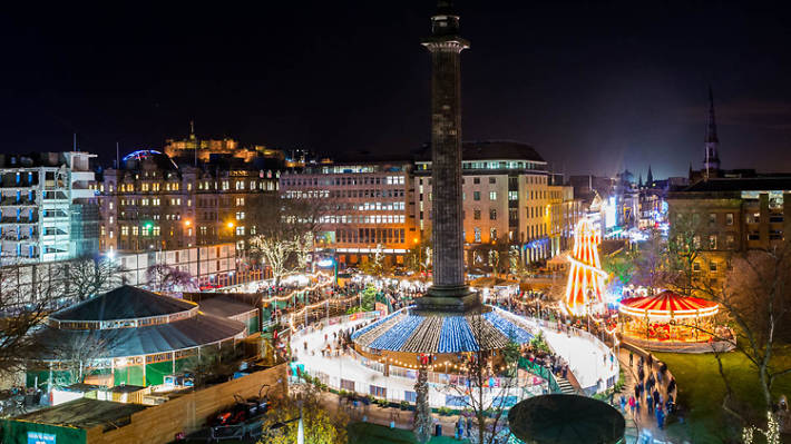 edinburgh's christmas st andrew square