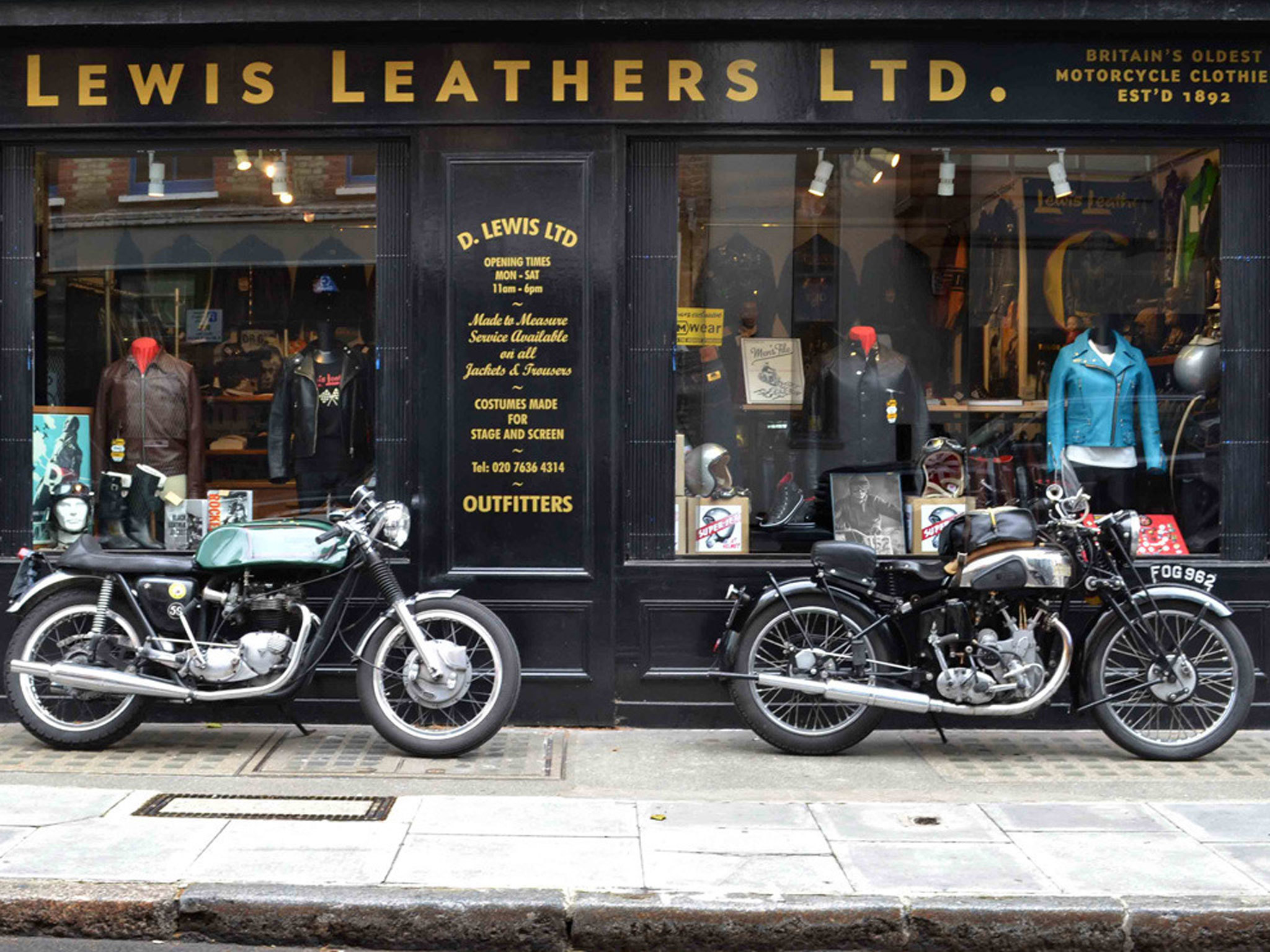 Lewis Leathers