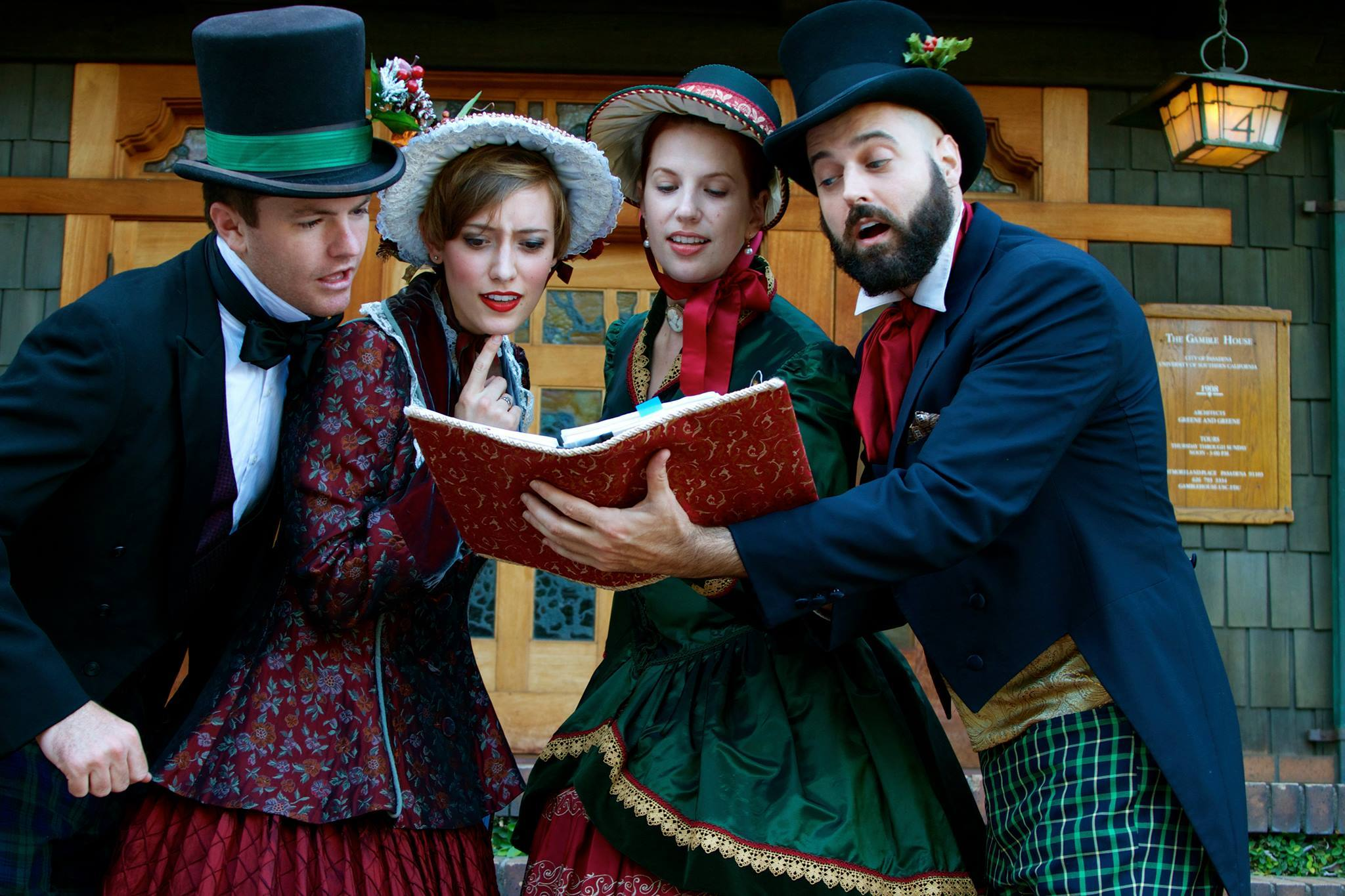 Christmas Matters Holiday Carolers
