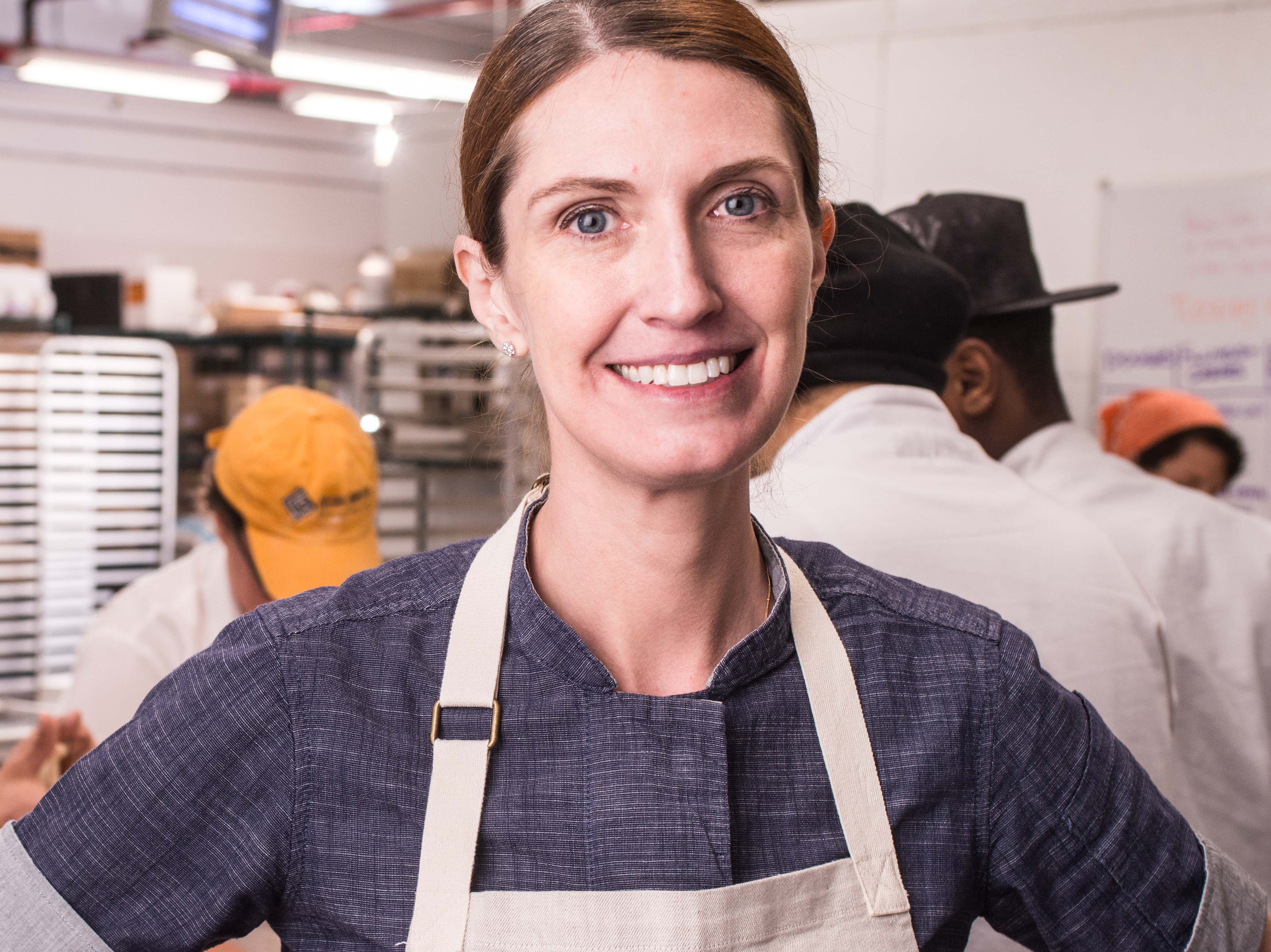 Melissa Weller,  Co-owner and baker at Mario Carbone, Rich Torrisi and Jeff Zalaznick's Sadelle's