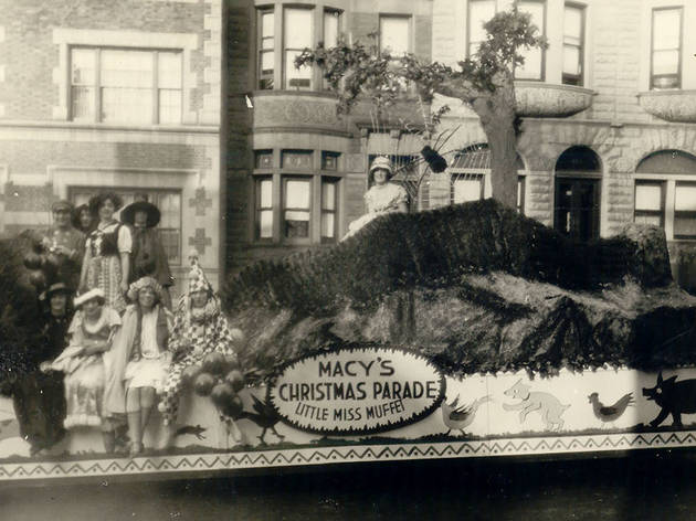 Miss Muffett float, 1924