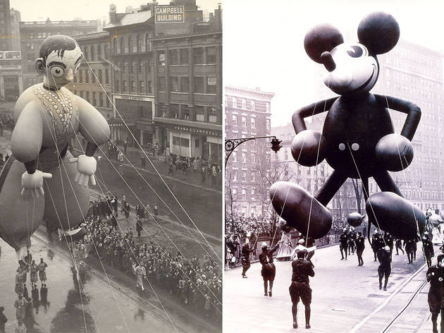 Left: Eddie Cantor, 1934 Right: Mickey Mouse, 1934